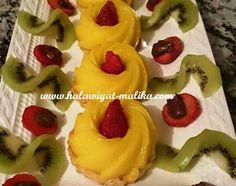 تارت بكريمة الليمون المقادير والطريقة في الرابط:  http://www.halawiyat-malika.com/2015/08/blog-post_51.html