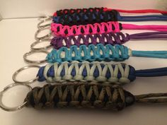 Paracord Lanyards by ParacordMarket on Etsy