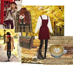 """""""How to wear military boot in fall"""" by scandicelt on Polyvore"""