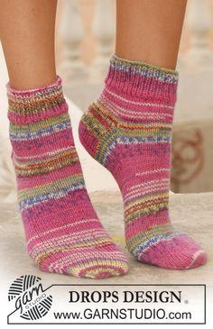 Candy-striped socks.