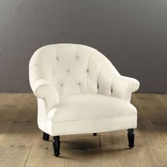 Gorgeous chair from Ballard Designs.  Especially awesome in Nomad ~ the tone-on-tone zebra print!