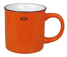 enamel-look vintage mug. made from ceramic. Many fancy colours!