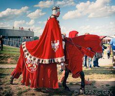Polish King Jogaila - Wladyslaw Jagiello (Jacek Szymanski) - 601th anniversary of Battle of Grunwald 1410 - 2011  Poland  More http://imagerion.com/2011/battle-of-grunwald/ #knights #medieval