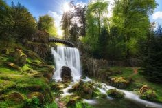 "https://flic.kr/p/JAVhcK | devil's bridge | The Devil's Bridge built in 1826 is located in the park ""Bergpark Wilhelmshöhe"" (UNESCO) in Kassel and part of the famous water feature which is taking place for two times a week. The water is coming down for around 20 minutes only and hundreds of people are staying around and watching this. So I've waited there fore some time until everyone was gone and combined two shots to remove all people and to create a really unique photo.  Please ..."