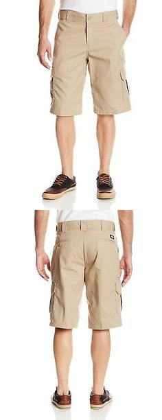 Pants and Shorts 163525: Dickies Mens 13 Inch Relaxed Fit Stretch Twill Cargo Short, Desert Sand, 44 -> BUY IT NOW ONLY: $32.57 on eBay!