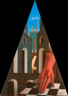 L´ènigme de la fatalité. Giorgio de Chirico