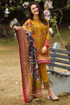 Alkaram Studio - 3 Piece Embroidered Lawn - 3 Piece Embroidered Collection - Volume 1 - Spring Summer Collection - Unstitched