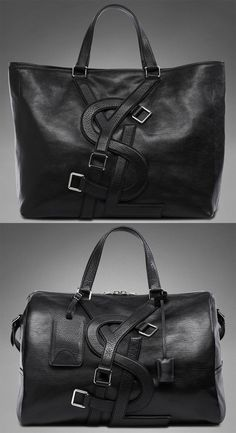 "I think women would love these in their closet.  ""Yves Saint Laurent's Vavin bags are one of the most memorable pieces from their men's collection because of the large YSL logo strap detail that covers the front."" narrative from blog #PurelyInspiration"