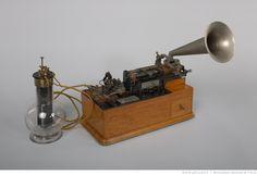 Edison Electric Phonograph. Phonographe à cylindre Class M à diaphragme Bettini des Archives de la Parole, 1907-1912