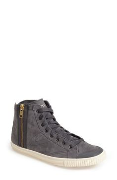Tretorn 'Seksti Mid' Suede Zip Sneaker (Women) available at #Nordstrom