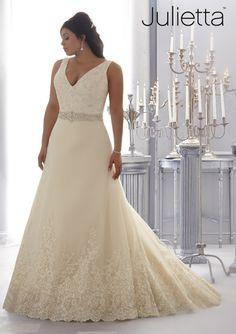 Vestidos para novias gorditas de Julietta 2014