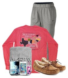 """"" by lacrosse-19 on Polyvore featuring NIKE, UGG Australia, H&M, Grey's Anatomy and Lilly Pulitzer"