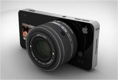 Apple iCam concept for iPhone 5. Yes please.