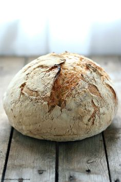Gorgeous No-Knead Bread from @manuela_78