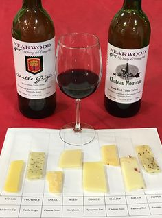 Wine and cheese goes together