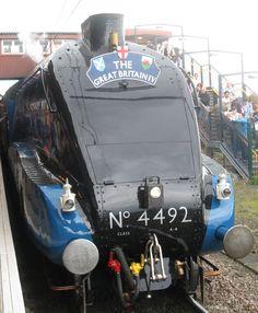 Mallard Train, Severn Valley, Uk Rail, Rail Train, British Rail, Train Engines, Steam Engine, Steam Locomotive, Travel Posters