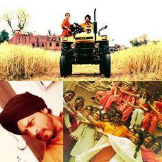 Lehraate Khet, Ladkiyaan, Lassi Te Love in Punjab. Thk u all for such a great shoot