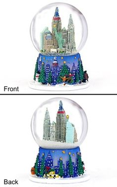 snow globes from around the world | Christmas in NYC Snow Globe One of ... | Snow Globes from Around t...