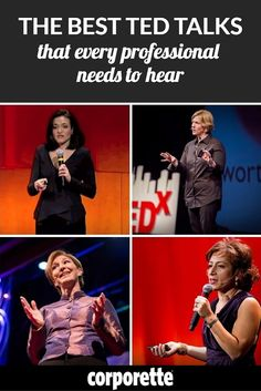 best TED talks for working women -- the ones every professional needs to hear!