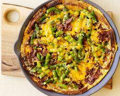 Healthy PointsPlus Asparagus, Bacon, and Cheese Strata Recipe