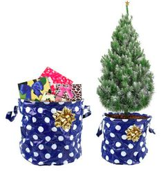Christmas at STORE! Present storage bags