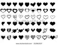 Find Heart Icons stock images in HD and millions of other royalty-free stock photos, illustrations and vectors in the Shutterstock collection. Small Heart Tattoos, Dainty Tattoos, Mini Tattoos, Finger Tattoos, Body Art Tattoos, Tatoos, Herz Tattoo Klein, Henna Tattoo Hand, Inspiration Tattoos
