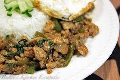 spicy thai basil chicken