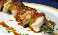 Brochetas de cerdo con verduras #RYC #brochetas #carne #cerdo #beef #verduras #vegetables #delicioso #delicious