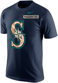 d3777ff3 Nike Seattle Mariners Men's MLB Patriot Camo Pack Logo T-Shirt (Navy Blue,  Medium) at Amazon Men's Clothing store: