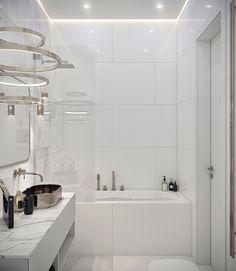 Apartment for Julia on Behance Elegant Woman, Bathtub, Bathroom, House, Behance, Home Decor, Elegant, Standing Bath, Washroom