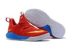 664f13c74ad Nike Zoom Shift EP University Red Metallic Gold Blue Mens Basketball  Shoes-1 Metallic Gold