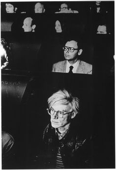 shihlun: Andy Warhol watching experimental films at the Anthology Film Archives. great post, thanks . Billy Name, Anthology Film, Film Archive, Film School, Bear Art, Silver Age, Poster Making, Andy Warhol, Great Artists