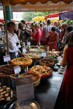 Wish I was there! - Street food at London's Borough Market