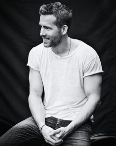flor on Twitter black & white ryan reynolds photoshoot are a ...
