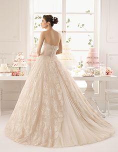 Azucena - Aire Barcelona 2015 - Menyasszonyi ruha - esküvői, menyasszonyi és alkalmi