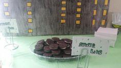 Ninja Turtles decoration and food ideas ( oreo cookies )