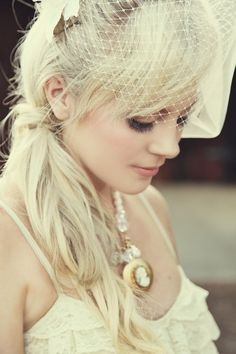 okay...just one thing I want at my wedding....this hat...