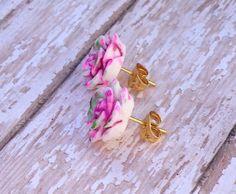 Bridal Jewelry, Flower Girl Earrings, Flower Girl Gift, Recital, Flower Girl Present, Flower Girl Jewelry, Wedding Favors, Bridesmaids Gift by JewelsbyRosies on Etsy