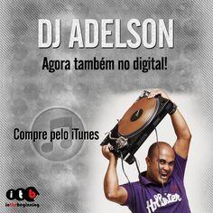 "DjAdelson agora também no digital!  Compre as músicas ou o álbum inteiro ""DJ Adelson Faz A Festa"" do DJ Adelson pelo iTunes: https://itunes.apple.com/br/album/dj-adelson-faz-a-festa/id705855030 #itbmusic #gospel #musicagospel #louvor #adoracao #djadelson"