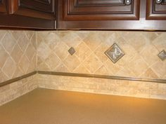 marble tile backsplash | Granite Backsplash Tile Backsplash Another design idea I like