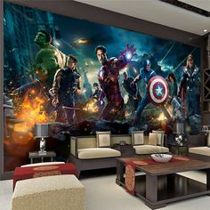 Transformers Optimus Prime Wallpaper Movies Wall Mural Large Wall Art Room  Decor Boyu0027s Room Bedroom Sofa TV Backdrop Wall Home Decoration