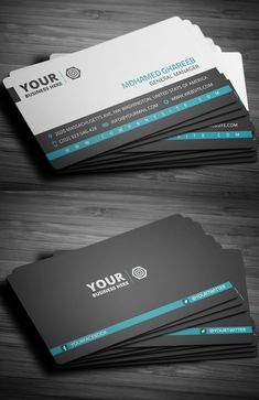 Premium business card templates design y stuff pinterest creative corporate business card friedricerecipe Images