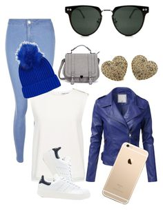 """""""my style 1#"""" by gercristina ❤ liked on Polyvore featuring New Look, Finders Keepers, Spitfire, Topshop, adidas Originals and Pomellato"""