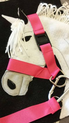 Quiet book horse buckle halter and lead https://www.etsy.com/listing/260020262/ready-to-ship-horse-buckle-halter-and