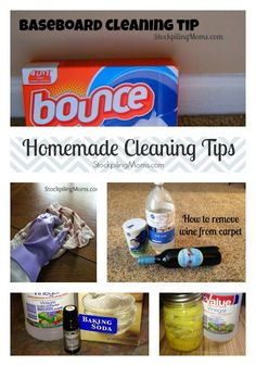 Homemade Cleaning Tips that anyone can do!