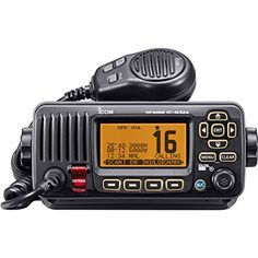 ICOM ICM324G 21 Marine VHF Radio with GPS Black *** You can find out more details at the link of the image.