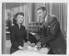 "Ruth Roman and Gary Cooper in "" Good Sam"" (1948)"