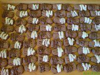 SKOŘIČKY Czech Recipes, Dessert Recipes, Desserts, Christmas Cookies, Almond, Baking, Vegetables, Food, Tailgate Desserts