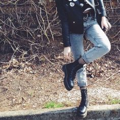 grunge fashion #grunge outfits #grunge style #grunge #dr martens #docs #doc martens #dr martens jadon 68 notes