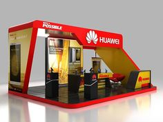 Huawei Exhibition Stall on Behance